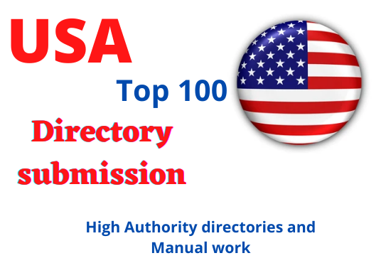 I will list top 100 USA directory submission link