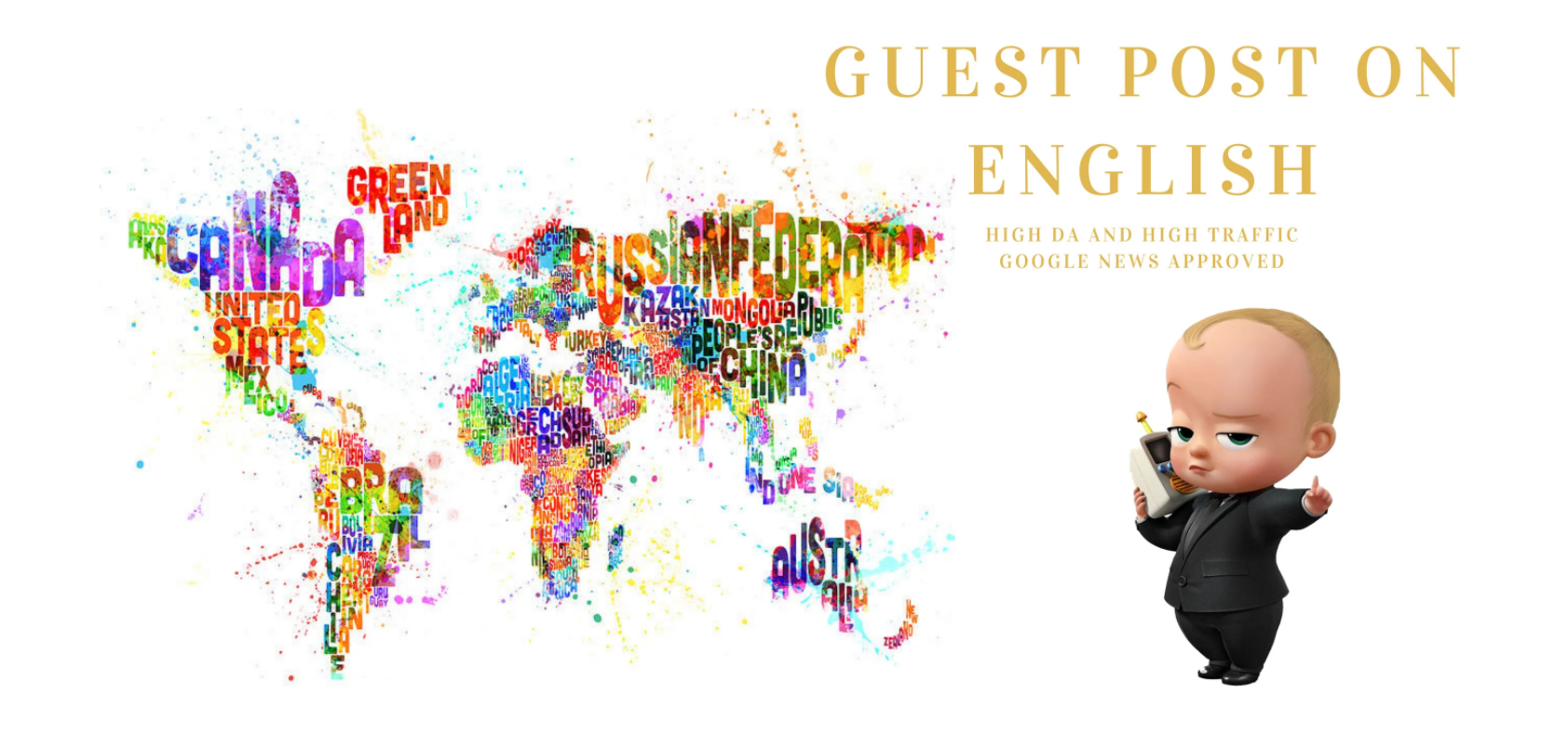 Do Guest post on English sites