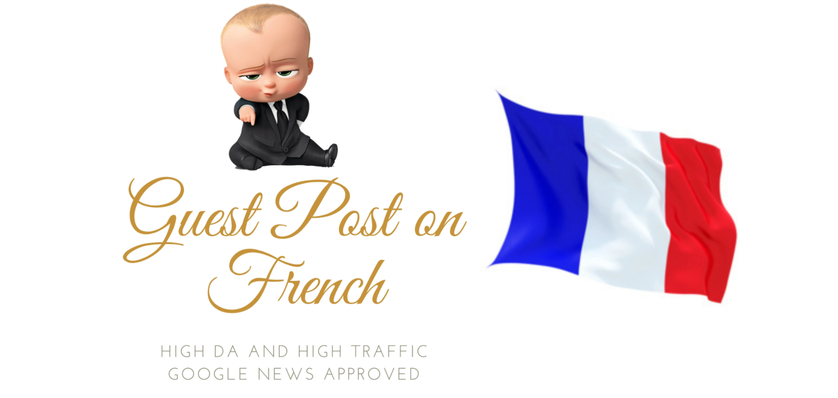 Do guest posting on French sites