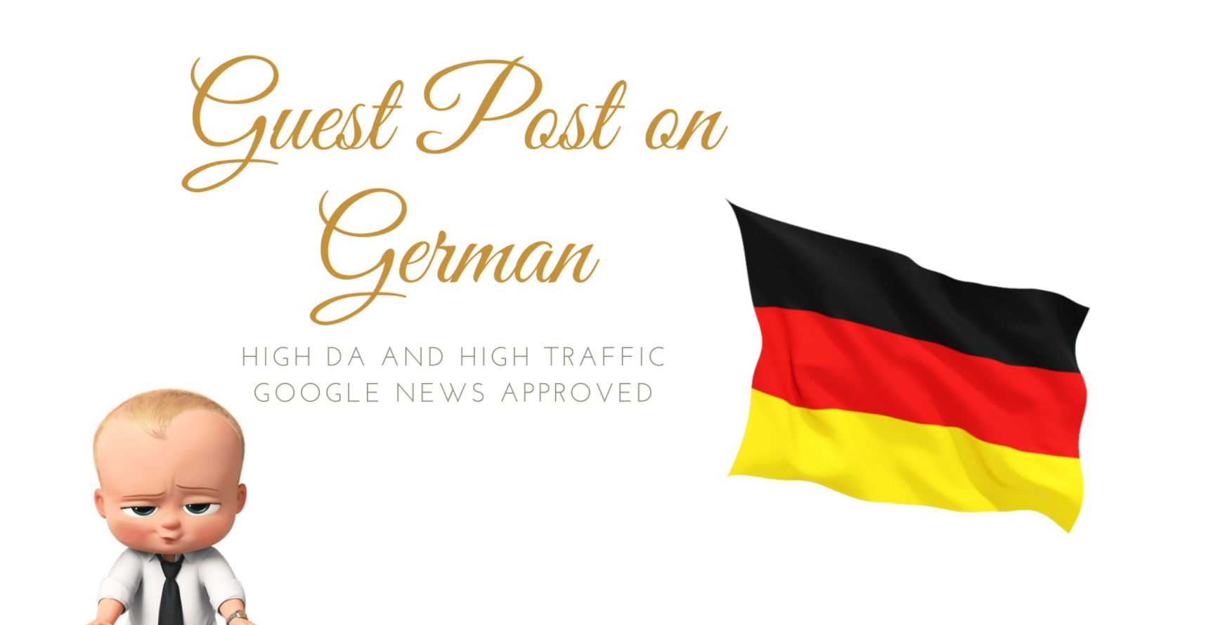 Do guest posting on German sites