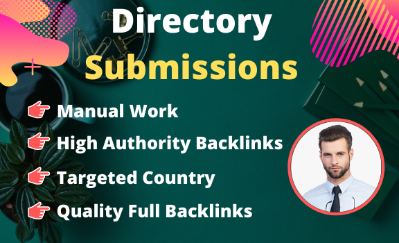 I will Create high authority 100 Directory Submissions backlink for SEO