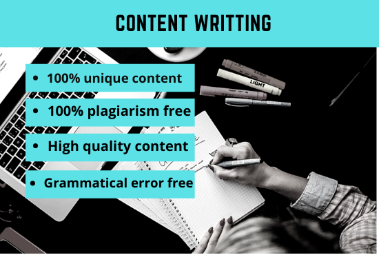I will write 1000 words SEO friendly unique article,  content and blog post on any topic.