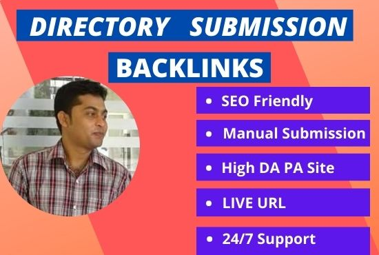 I will do 70 web Directory Submission for website