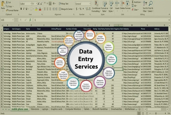 I will do 1000+ fast typing data entry, copy paste, web data scraping & lead generation job in 24h