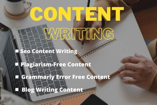 I will write 1000 well researched SEO website contents,  articles writing,  blog posts