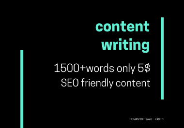 I will be your SEO content writer,  article writer and website content writing