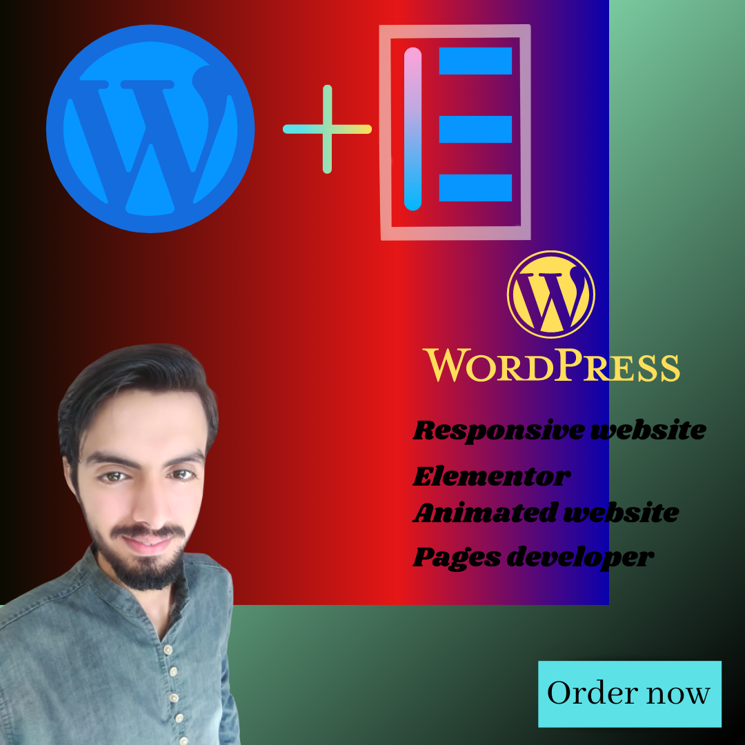 I will design wordpress responsive website , design, plgins & page developer