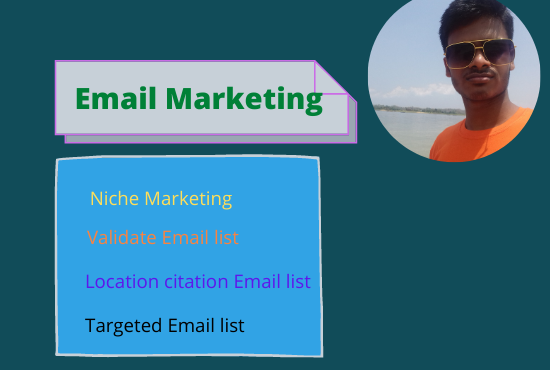 I will provide 3k verify email,  remove duplicate,  on targeted niche or location citation email list.