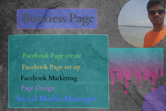 I will make and set up a business page professionally for online marketing.