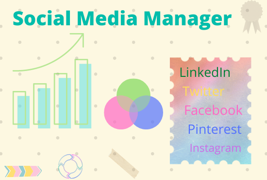 I will be 1 post per day for 30 days your social media marketing manager for social network.