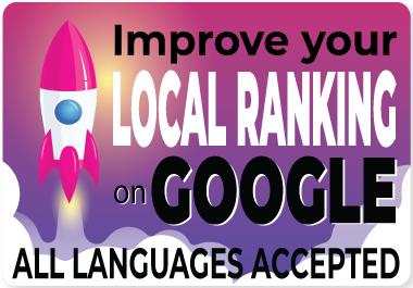 Improve Guaranteed LOCAL RANKING on GOOGLE PBNs Backlink Linkbuilding Web2.0 EDU GOV
