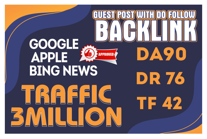 I will Publish 13 Guest Post With Permanent Contextual Backlink On High Domain Authority