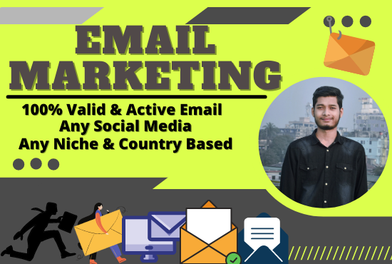 I will provide you 5,000 niche targeted mail list for email marketing