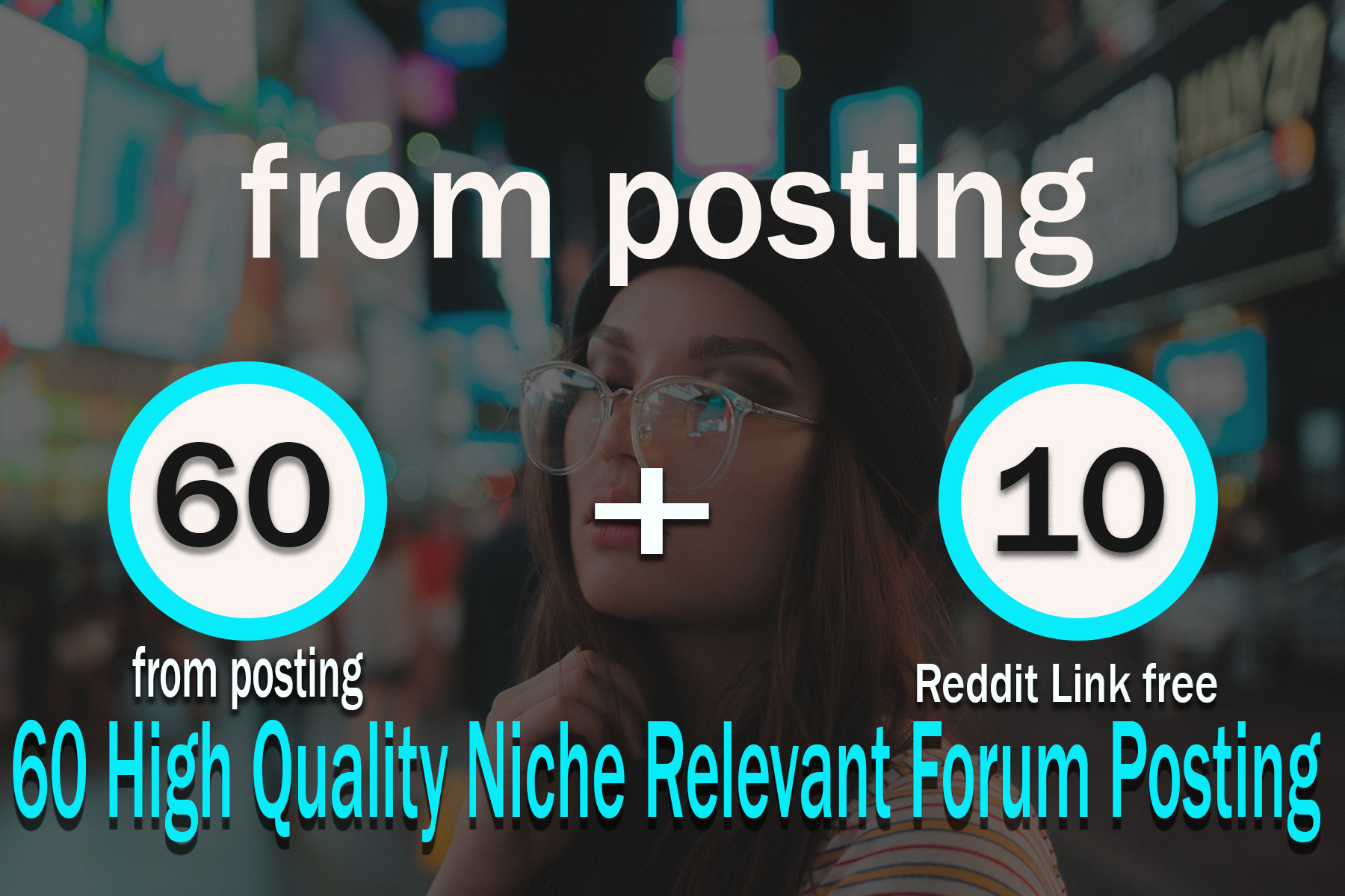 60 High Quality Niche Relevant Forum Posting Back links