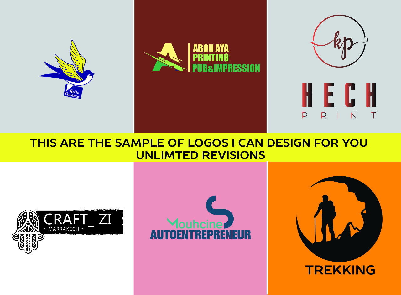 I will create professional logo and stationery