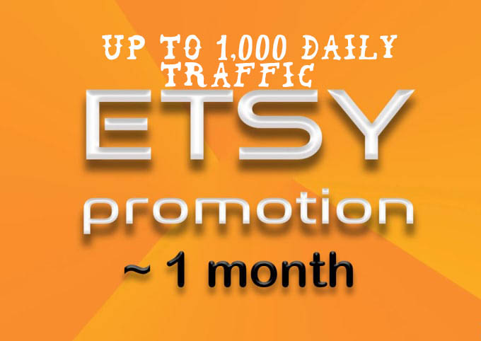 Etsy shop promotion to get etsy sales