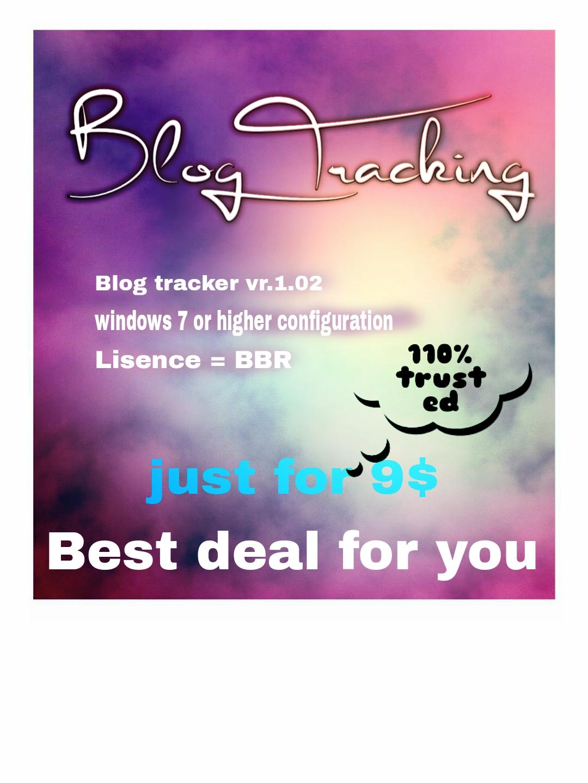 Best Blog Tracking for identifying wordpress