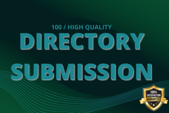 I will Provide 100 high authority directory submission