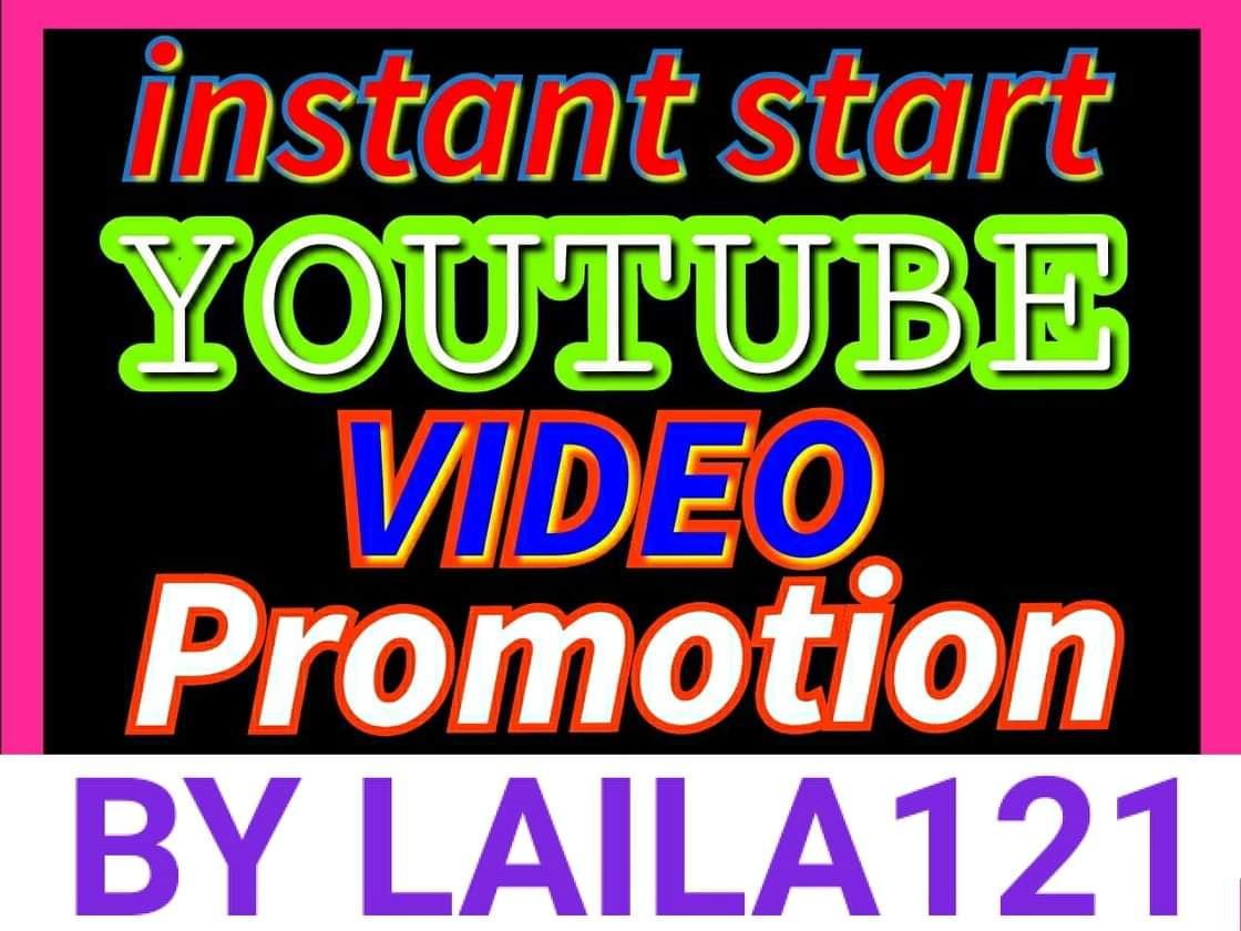 High Quality Super fast Youtube video promotion & social network marketing fast delivery
