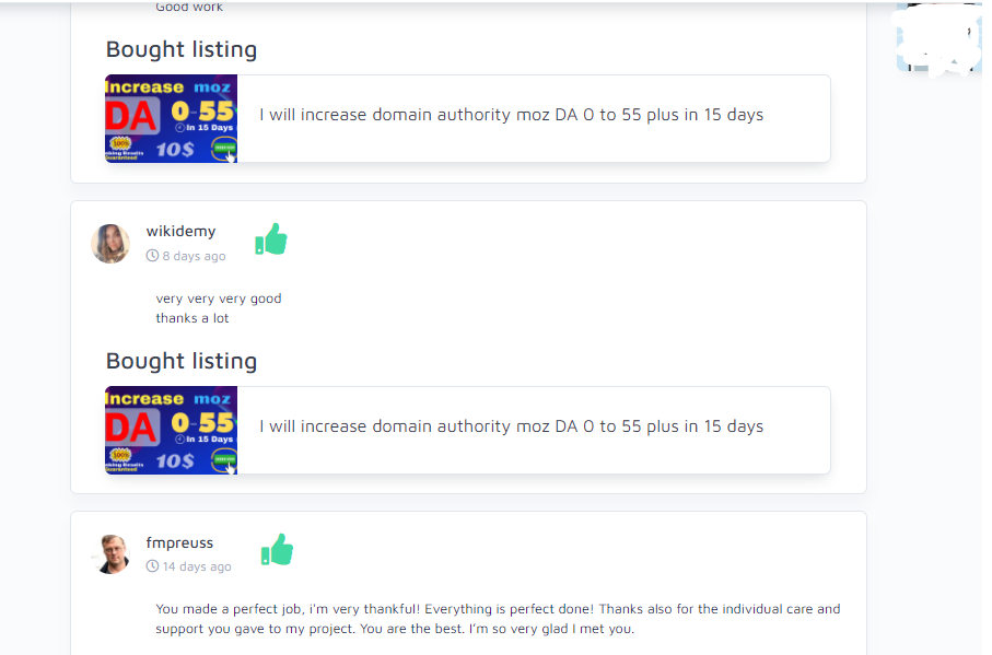 I will increase domain authority moz DA 0 to 55 plus in 15 days