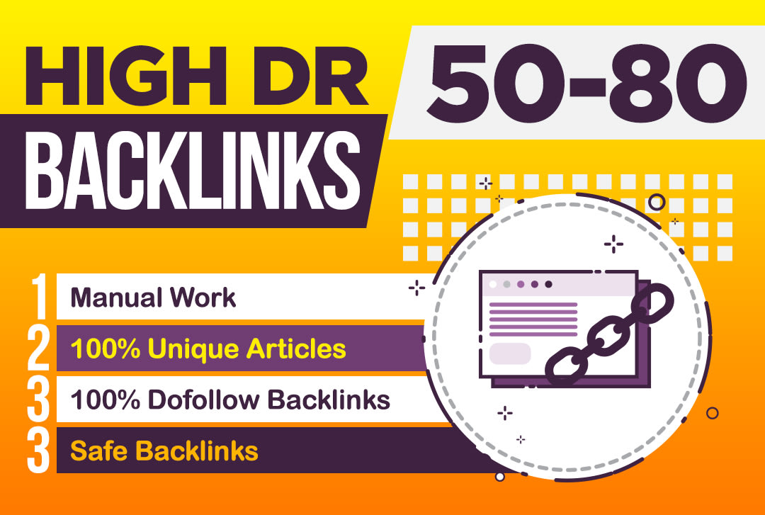 Create 150 high DR permanent dofollow backlinks for off page seo