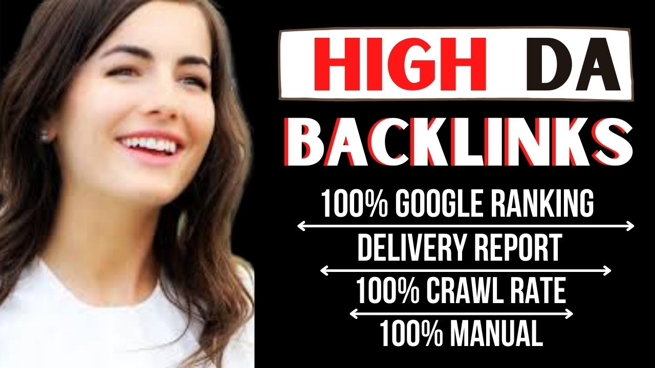 build 100 high domain authority seo dofollow backlinks