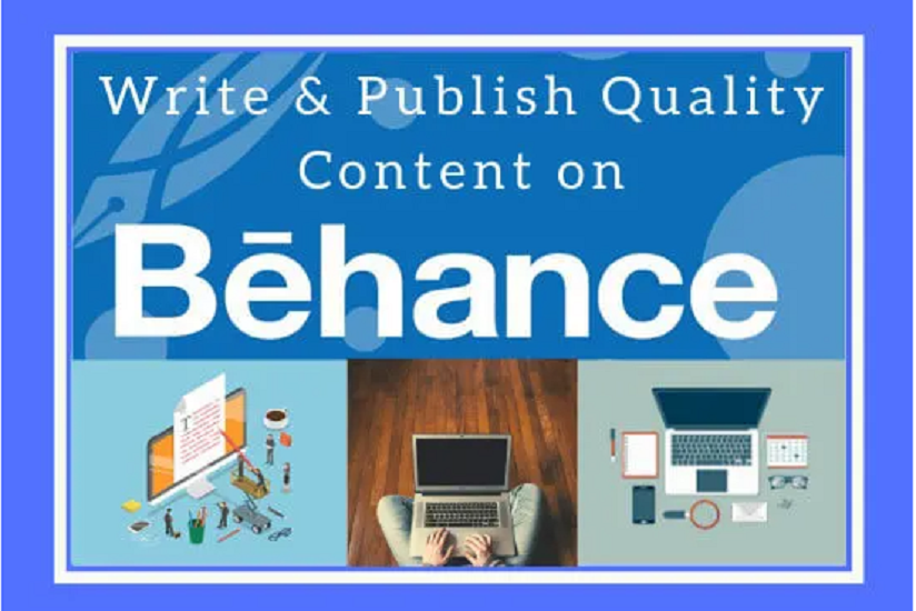 I will write and publish guestpost on behance da 94