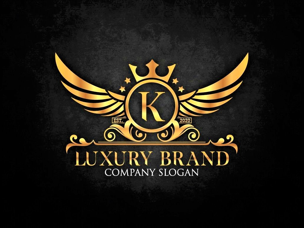 I will design professional luxury logos