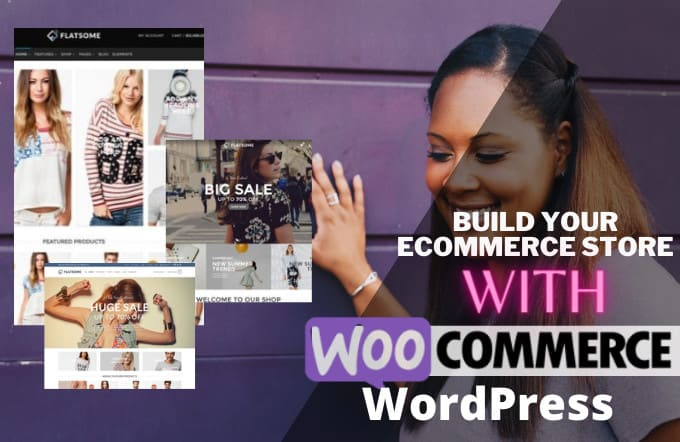 I will develop a wordpress ecommerce website online store