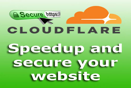 I will setup cloudflare CDN and install ssl to secure your website