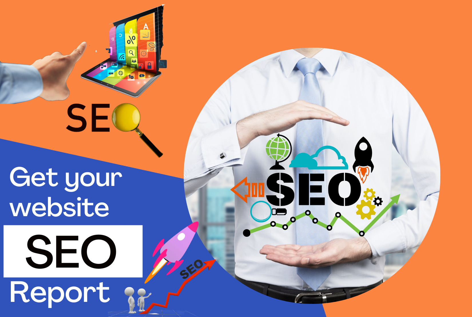 I will provide a detailed SEO audit report for your website