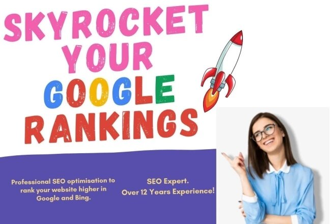 I will create skyrocket your google rankings with my SEO backlinks
