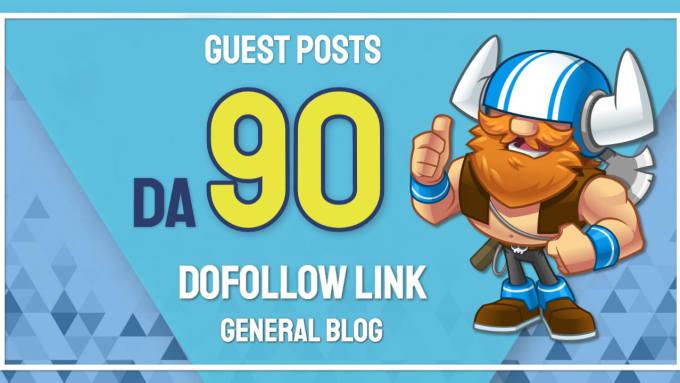 I will provide a backlink on my da 90 general blog