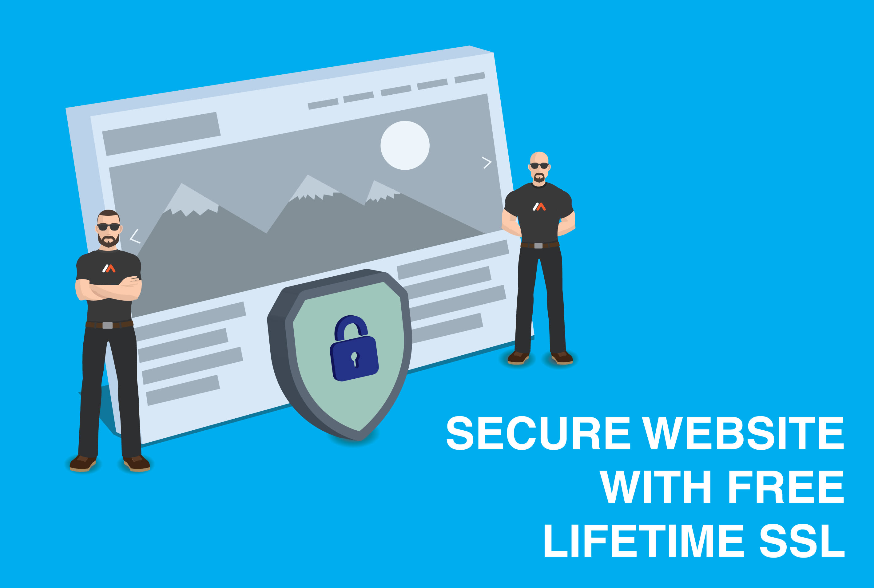 I will make your website secure by installing free SSL for lifetime