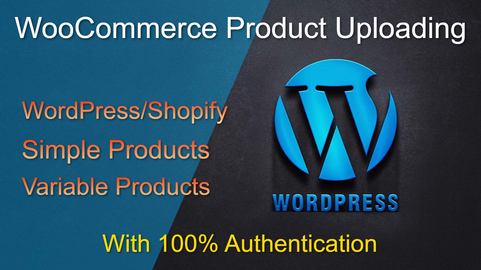 I will add products to your wordpress woocommerce website