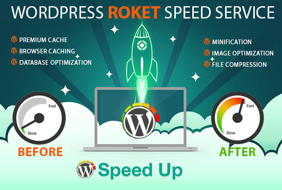 I will speed up your wordpress website gtmetrix 90