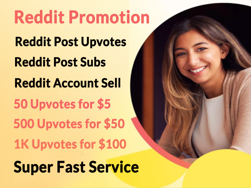 Reddit Account management and promotion