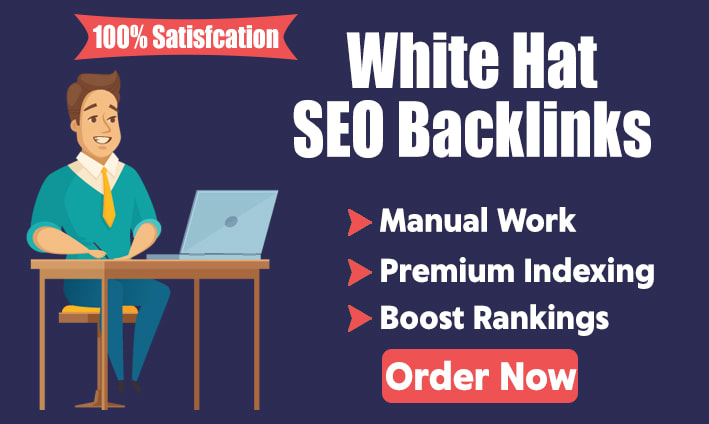 I will create manual white hat SEO backlinks for ranking boost