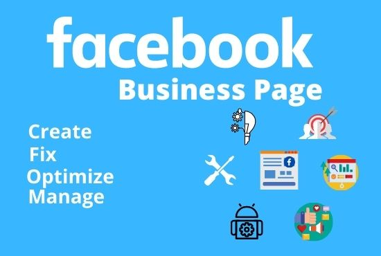 Create Setup Optimize & Manage Facebook Business Page Professionally That Audience will love