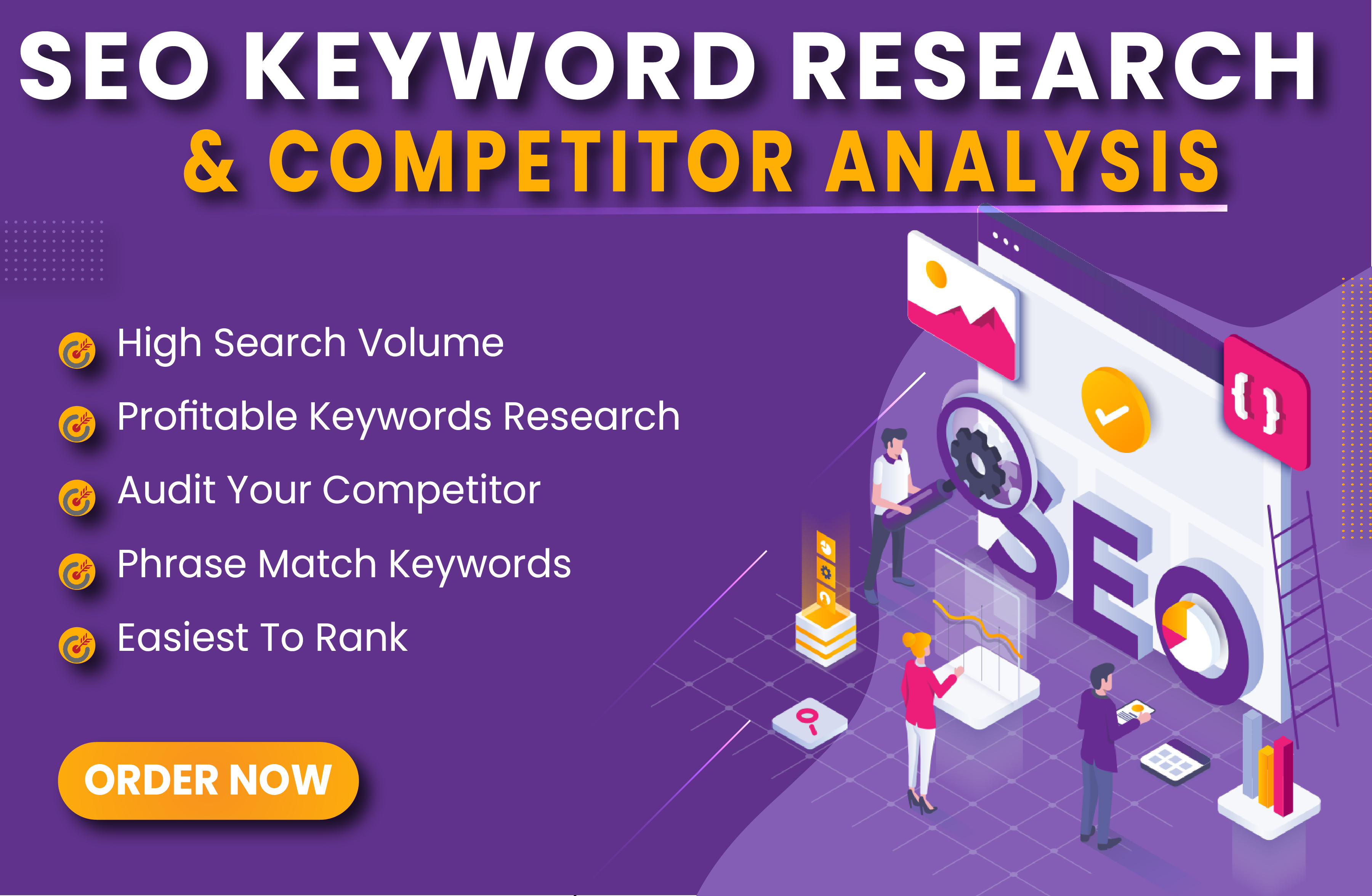 I will do Niche,  Keyword Research & Competitor Analysis