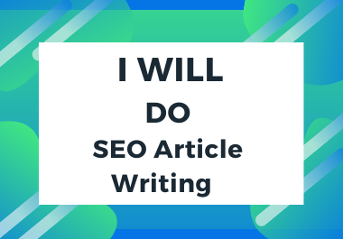 2x1100 Words Effective SEO Article Writing/Content Writing/Blog Writing