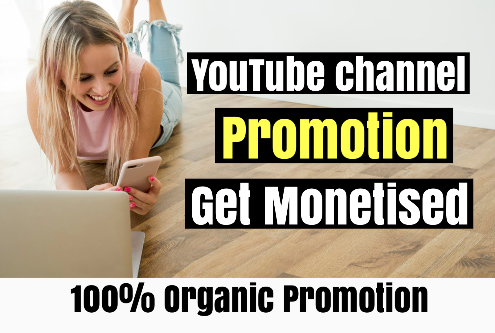 do promotion for youtube monetization through social ads