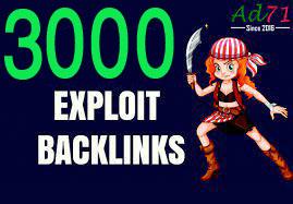 Give you 2000 HQ PR Exploit backlinks