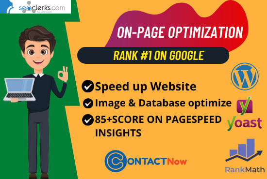 I will do wordpress yoast SEO on page optimization for 1st ranking -2 page