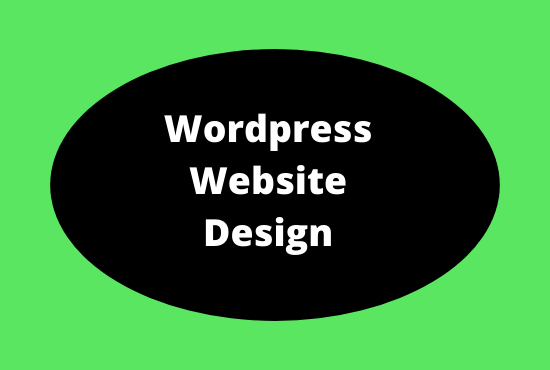 I will build and design your wordpress website