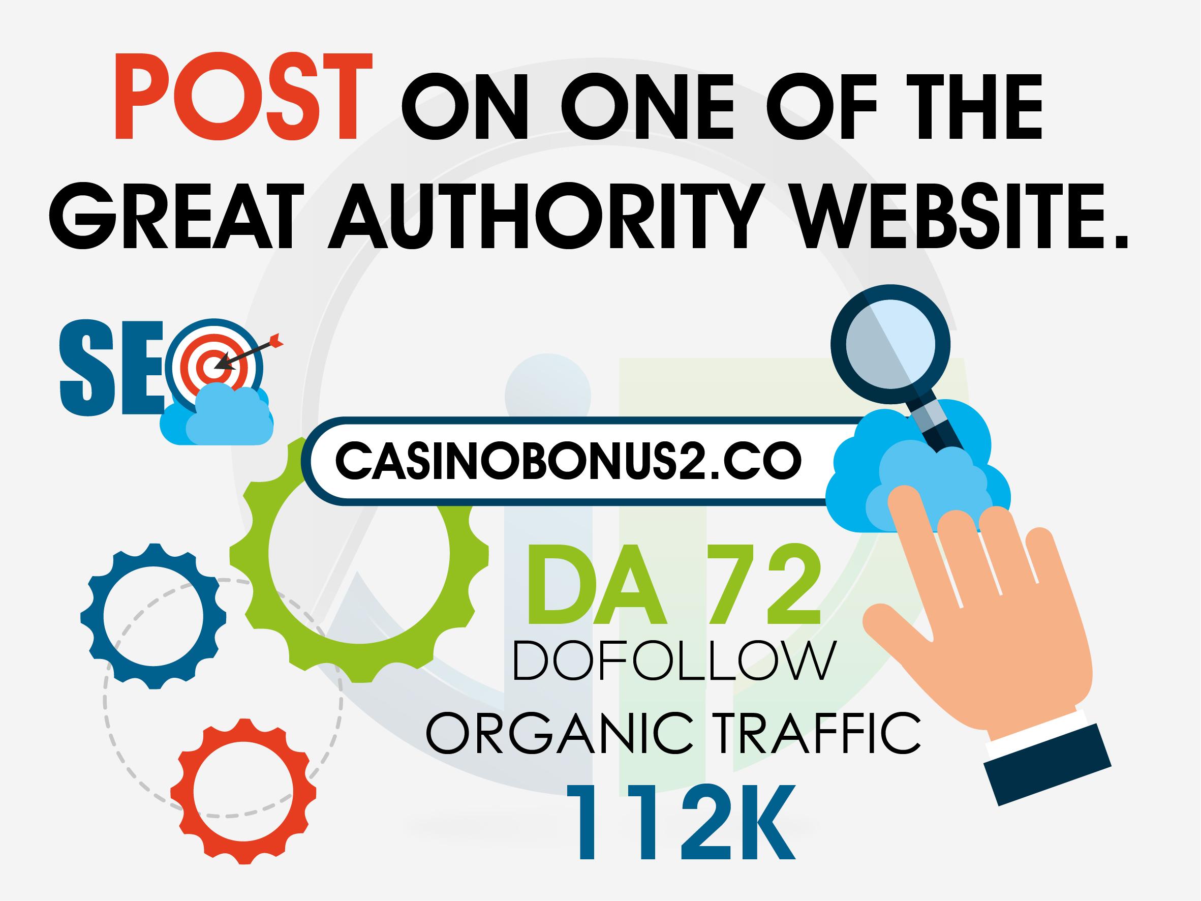 Do providing guest post on dA 72