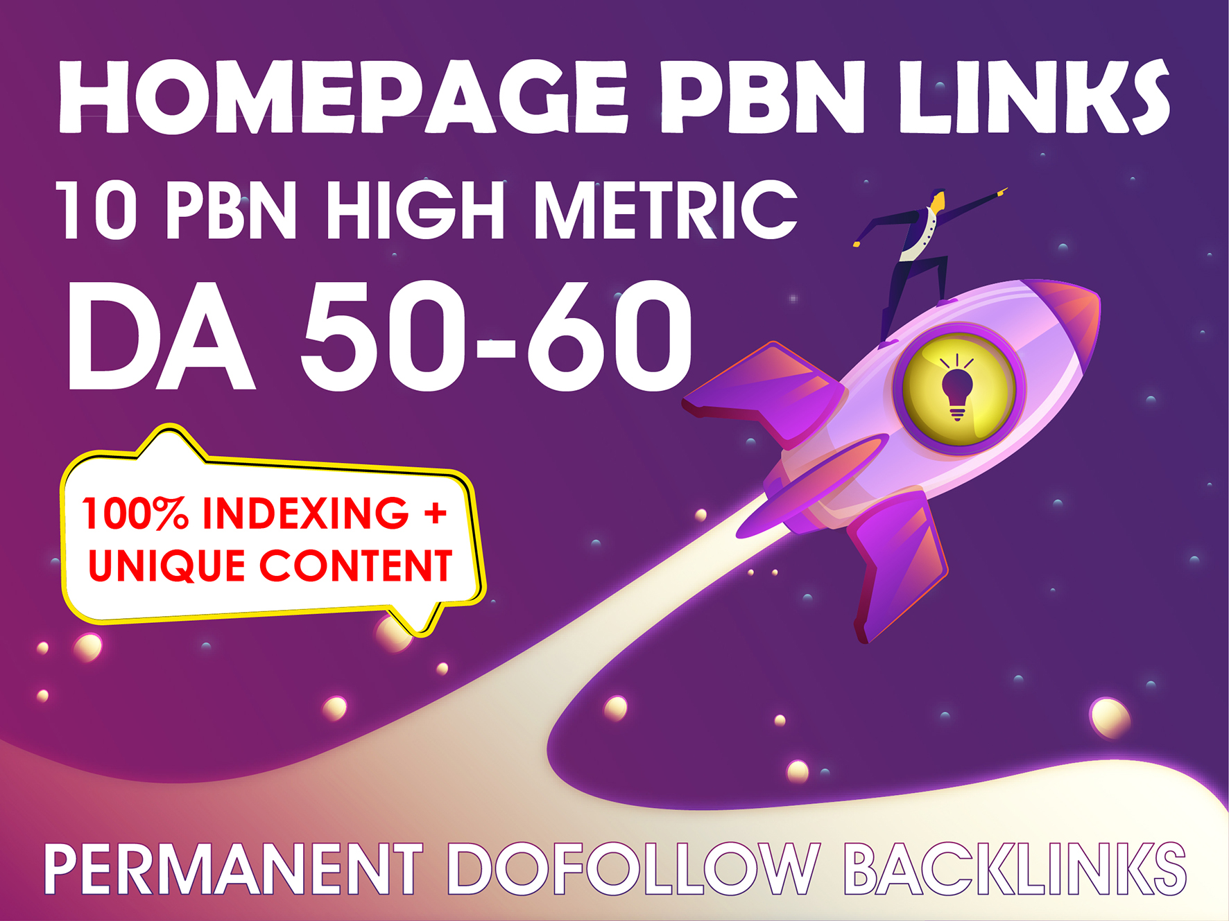 10 PBN High Metrics DA 50 TO 60 Permanent Backlinks