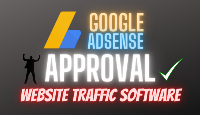 AdSense approval traffic software for website and blogger
