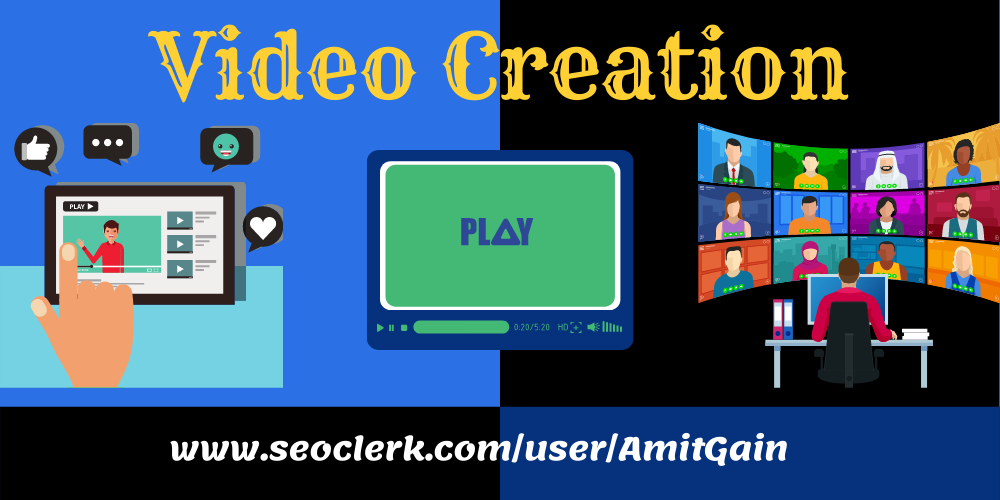 I will do video create and video submission to 20 high PR sites