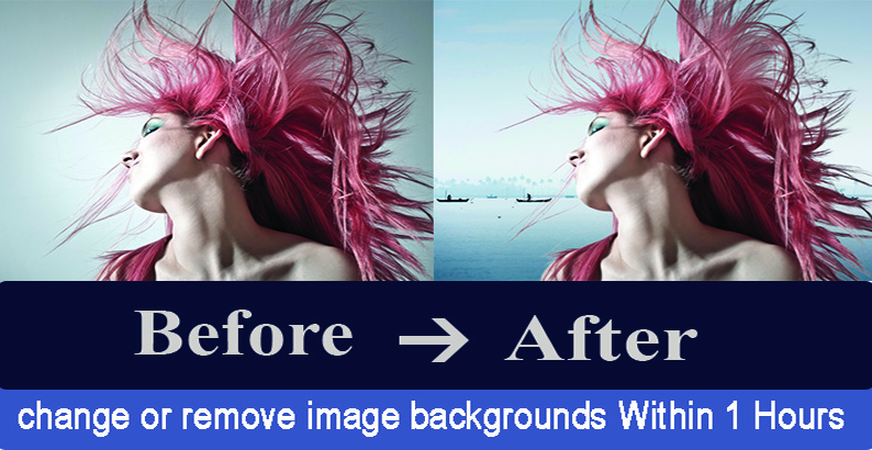 Remove or change the background your 5 image in 1 Hrs perfectly